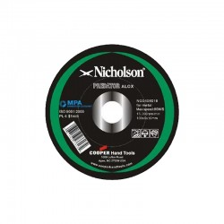 NICHOLSON ABRASIVE WHEEL